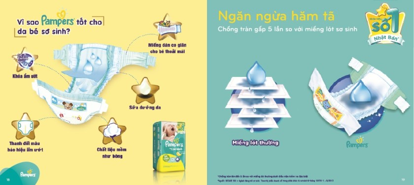 Review tã dán Pampers Baby Dry